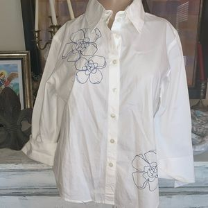 Bay Studio embroidered blouse